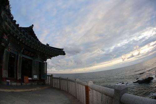 naksansa sky sea