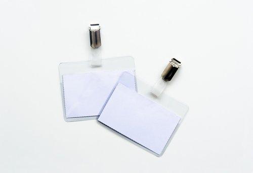 name tag  card holder  plastic