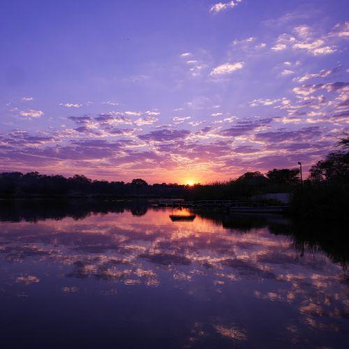 namibia africa sunrise