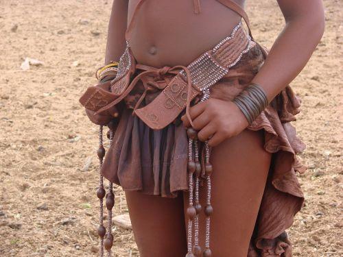 namibia woman himba