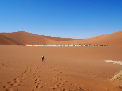 Namibija,soussevlei,dykuma