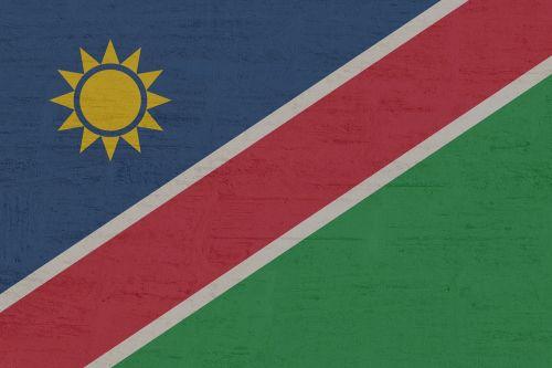 Namibija,vėliava,tarptautinis