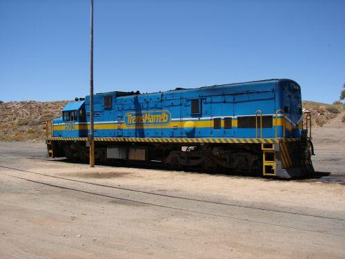namibia locomotive railway