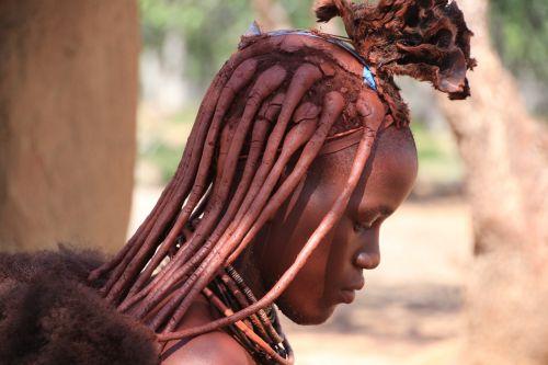 namibia himba africa