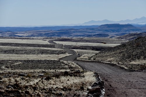 namibia  africa  landscape