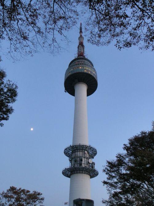 namsan tower seoul republic of korea