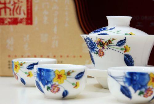 nanjing tea set practise using