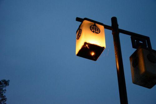 nanjing xuanwu lake lamp