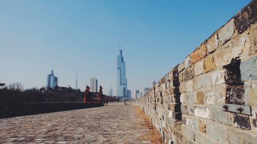 nanjing the city walls china