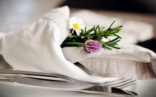 napkin  cloth napkins  cutlery