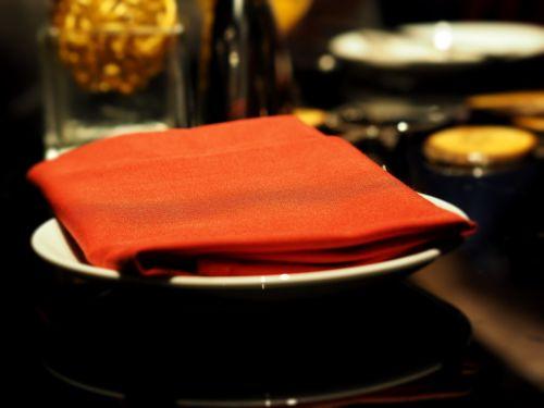 napkins handkerchief hand towel