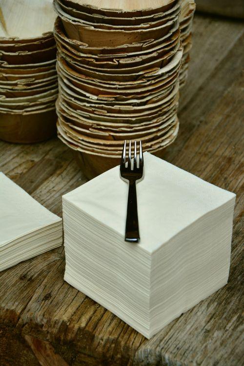 napkins stack paper napkins