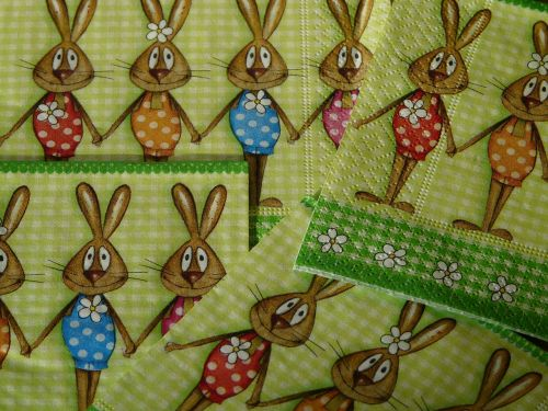 napkins easter easter napkins