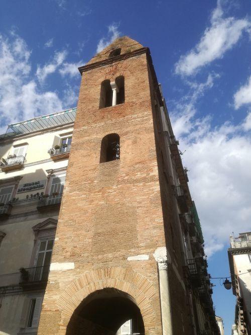 naples campanile via tribunali