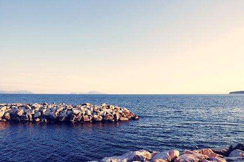 naples  italy  sea