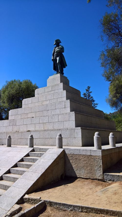 napoleon monument corsica