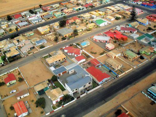 Narraville Town In The Namib Desert