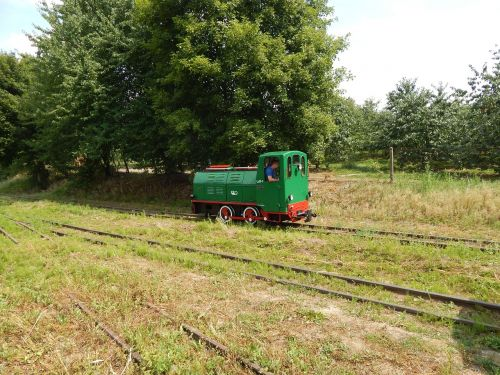 narrow-gauge railway train locomotive