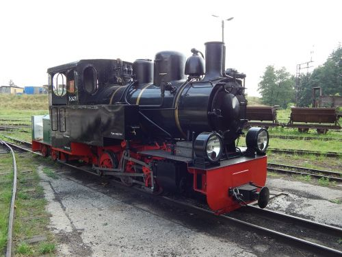 narrow-gauge railway train wagons