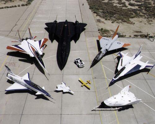 nasa research aircraft fleet x-31 f-15