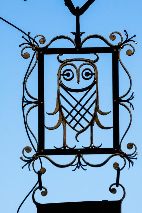 nasal shield owl advertising