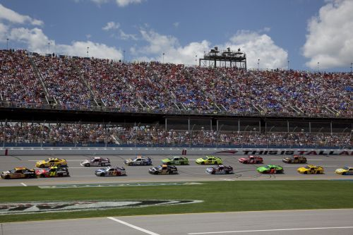 nascar racetrack auto racing