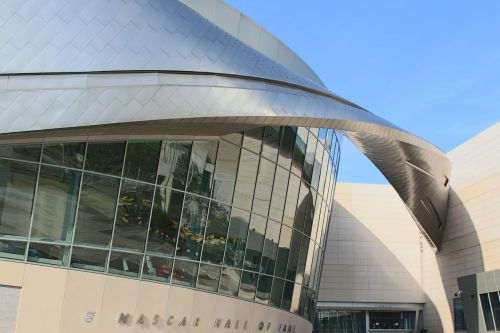 nascar hall of fame building architecture