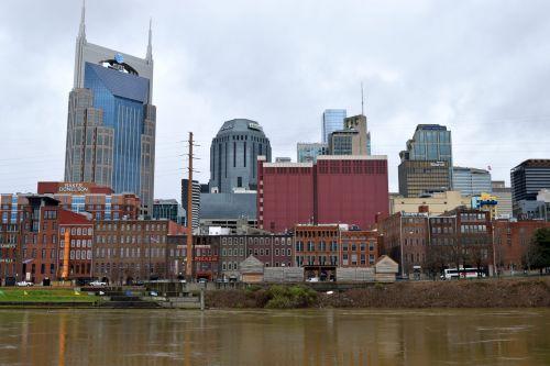 Nashville, Tennessee Cityscape