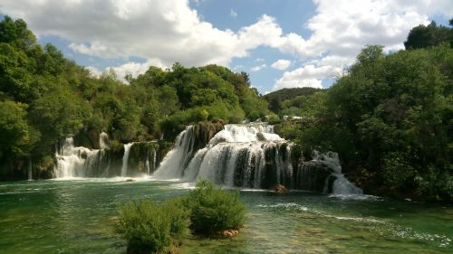 nationak park krka waterfalls croatia