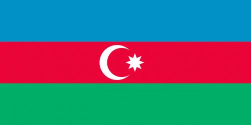 national flag azerbaijan