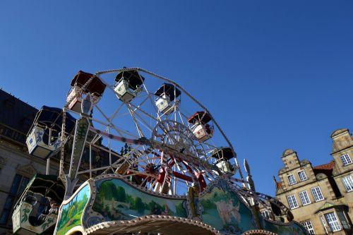 national fixed fair carousel
