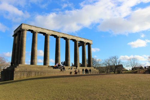 National Monument In Edinburgh