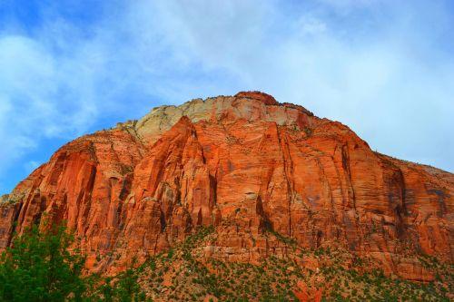 Nacionalinis parkas,kanjonas,Sion nacionalinis parkas,raudona,uolingas,kalnai,vasara,išeiti,nuotykis