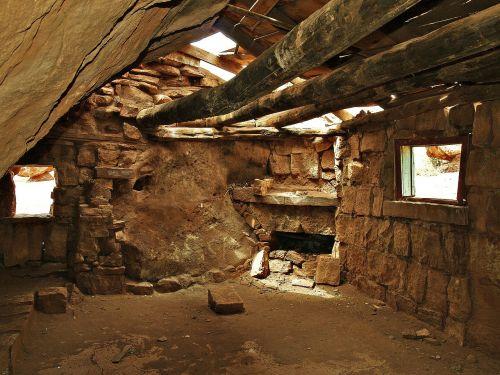 native shelter building