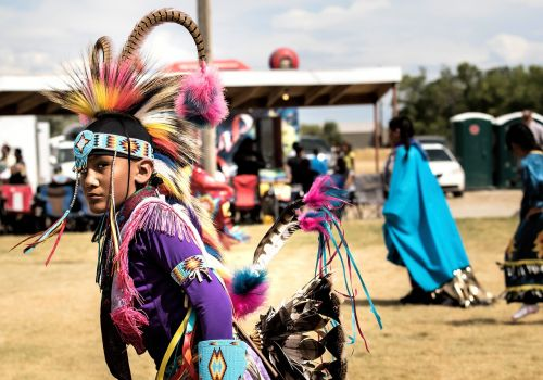 native american indian arapahoe pow wow