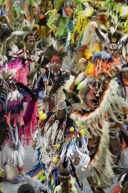 native americans dancing celebration
