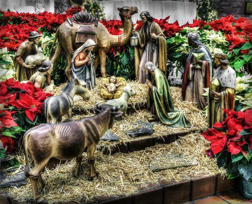 nativity manger christmas