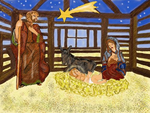 nativity scene christmas santon