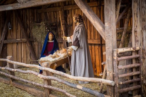 nativity scene christmas christmas time