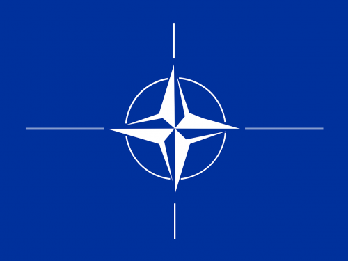 nato flag compass rose