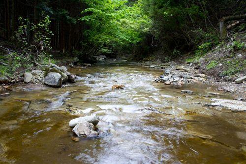 natural river mountain