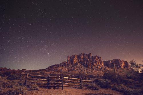 natural night sky
