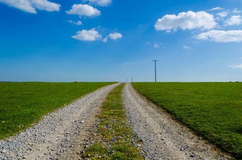 kraštovaizdis, pavasaris, vasara, Anglija, Šiaurė, žalias, gražus, natūralus, gamta, sezonai, žolė, spalvos, dangus, mėlynas, kelias, kelias, natūralus fonas, žolė ir dangus