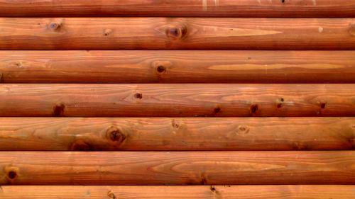 Natural Brown Log Background