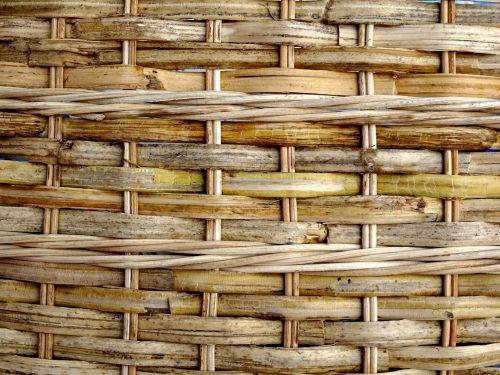 Natural Color Basket Background