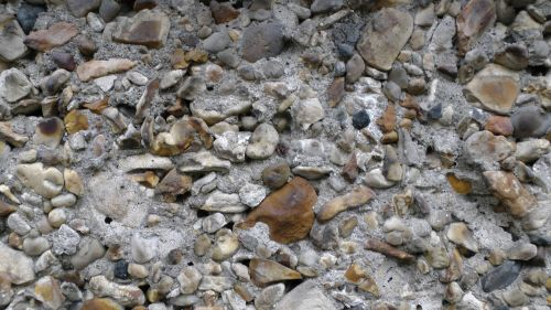 Natural Color Pebble Background