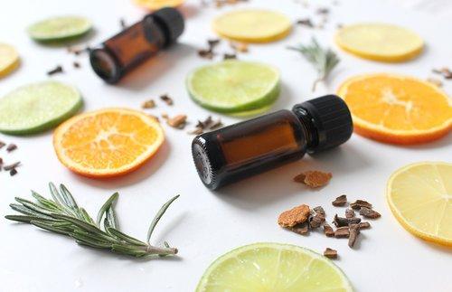 natural cosmetics  fragrance  lemon