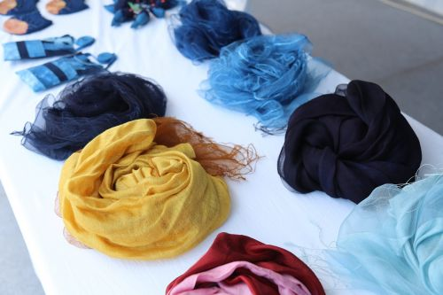 natural dyeing scarves natural dyeing famous hat-bone