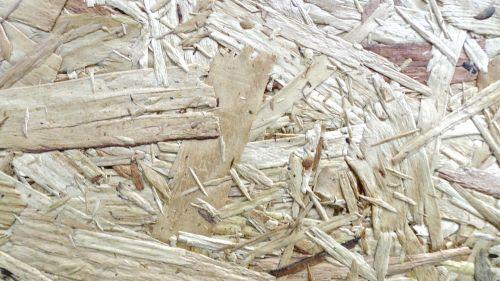 Natural Wood Shavings Background