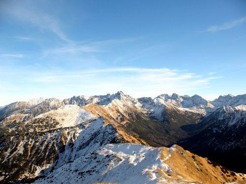 nature mountains tatry